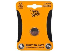 Baterie knoflíková lithium CR2032 1ks JCB