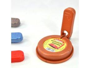 Hlava zavařovací kuličková páková 83mm, mix barev
