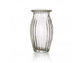 Váza sklo 11,5cm  CRASTY