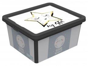 Box úložný CUTE SKY 2,5L 16,5x19x9,5cm