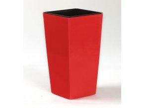 Květináč FINEZIA 14x14cm červená