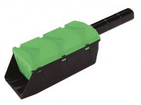 Lopatka posypová 0,7L univerzální  SHARKIE zelená