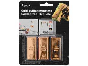 Magnetky 3ks  GOLD
