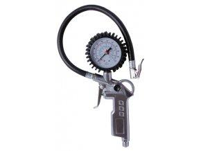Hustič pneu ke kompresoru s manometrem  FESTA