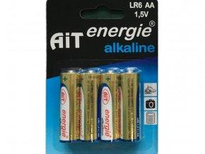 Baterie AiT Alkaline LR6 AA 4ks blistr