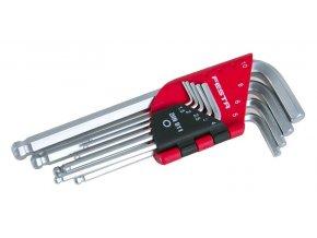 Klíče imbus sada hex 1,5-10mm s kuličkou FESTA