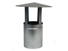 Komínová stříška ventilační pozink ¤132mm  CZ
