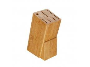 Blok stojan na 6 nožů a ocilku  BRILLANTE bambus