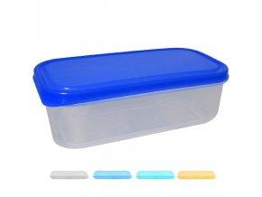 Box na potraviny MINI 18x9x6cm 600ml  FRESHBOX, mix barev