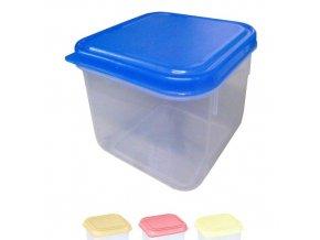 Box na potraviny MINI 9x9x6cm 250ml  FRESHBOX, mix barev