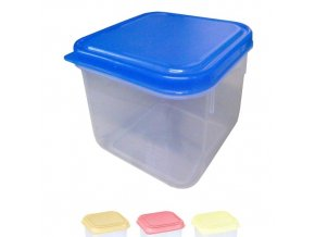 Box na potraviny MINI 9x9x6cm 250ml  FRESHBOX, mix barev