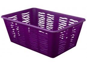 Košík PH 30x20x11cm ZEBRA fialová