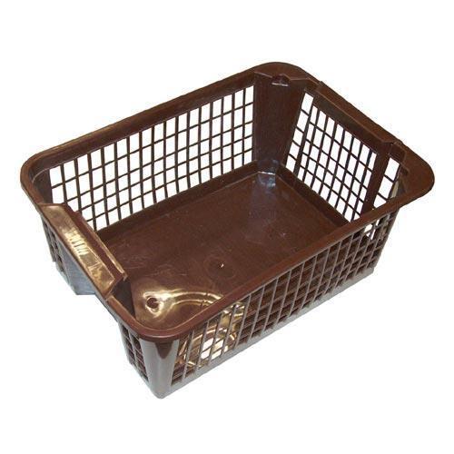 Košík PH 36x26x14,5cm stohovací MINI hnědá  CZ