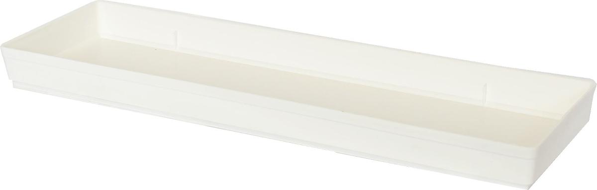 Miska pod truhlík 40cm bílá  CZ