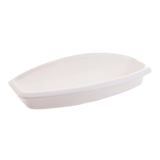 Polička plast 38,5x14x9cm  CLASSIC bílá