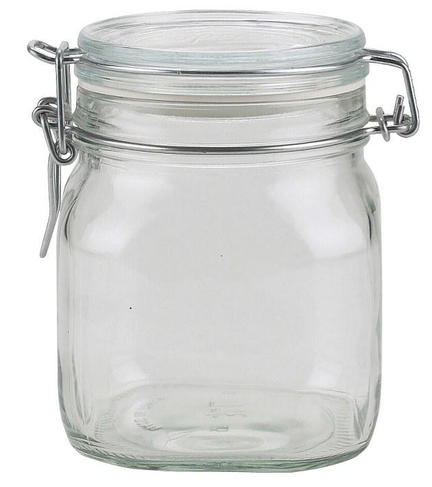 Dóza sklenice patentní 0,75L  FIDO