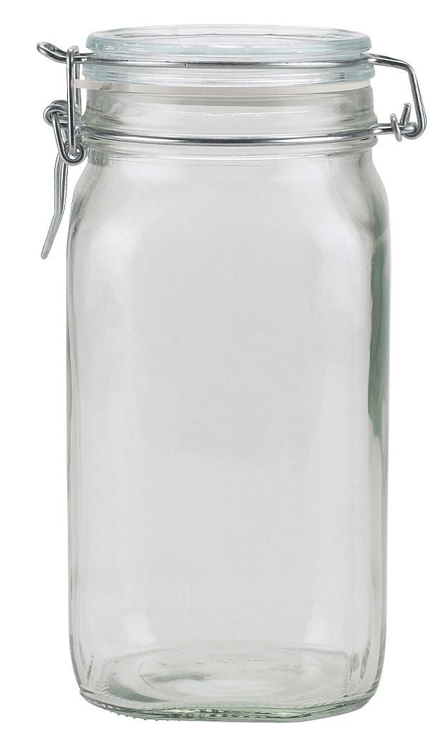 Dóza sklenice patentní 1,5L  FIDO