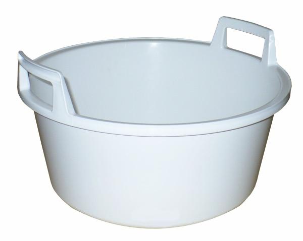 Škopek ¤49cm 25L PH bílý  CZ