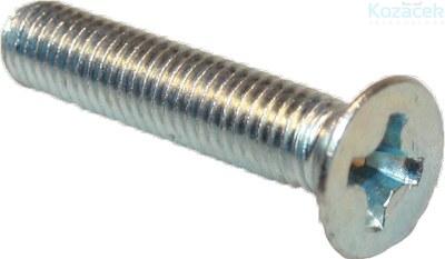 Šroub M 4x 40 ZH ZB Ph 100ks (odběr bal.500 ks)