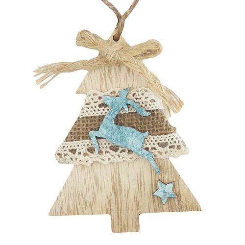 Vánoční ozdoba stromek X0204C 5ks  MAGICHOME