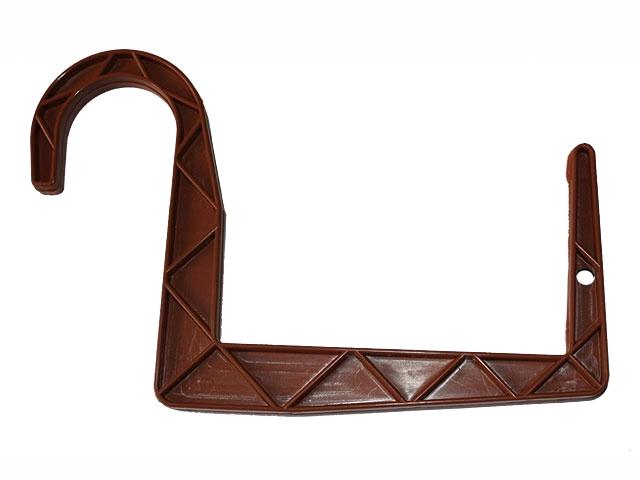 Držák truhlíků 15cm PH kulatý hnědý