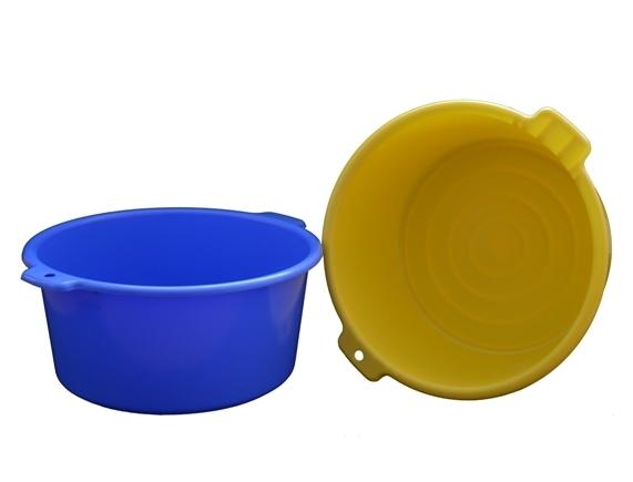 Dřez plastový 12L ¤36x17cm  CZ, mix barev