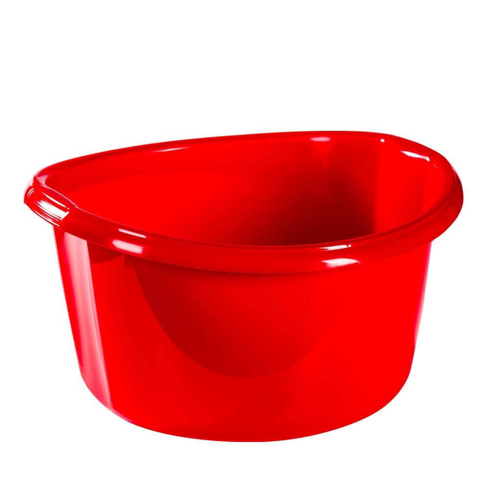 Dřez plastový 15L ¤40x21cm  SOLID, mix barev