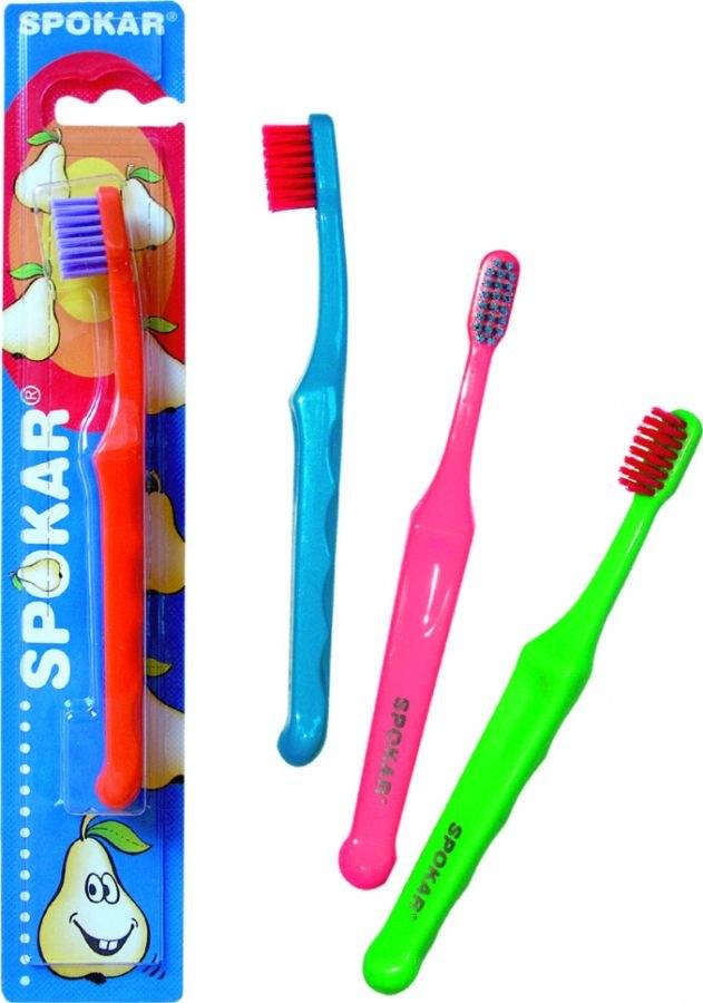 Zubní kartáček dětský 3432 SPOKAR, mix barev