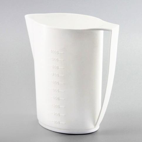 Džbán plastový 1L na sáčkové mléko, odměrný  CZ