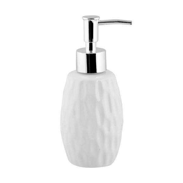 Dávkovač mýdla keramický 180ml  DOLOMIT bílý