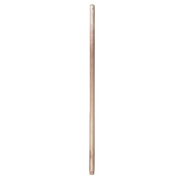 Hůl násada 130cm dřevo, hrubý závit  LUX