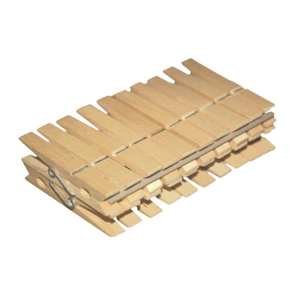 Kolíčky na prádlo 20ks dřevo  YORK