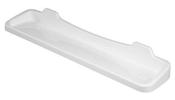 Polička plast 60x13,5cm bílá  CZ