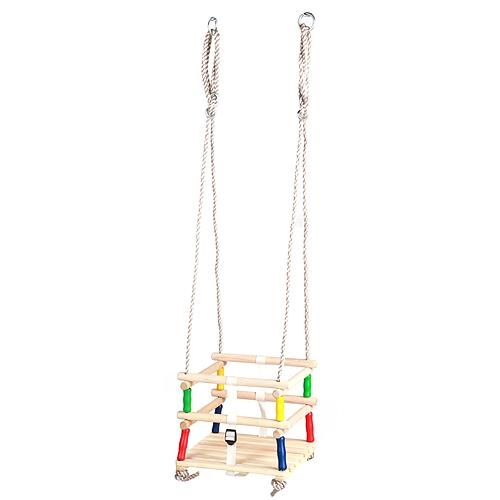 Houpačka dřevěná dětská 30x30cm  HANAKO