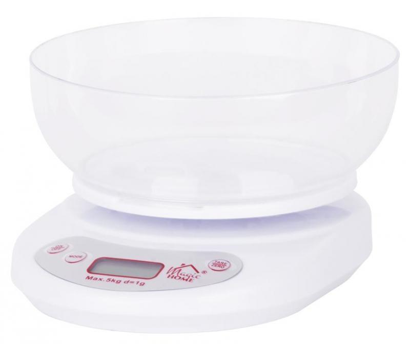 Váha kuchyňská digitální  5kg s mísou  MAGICHOME