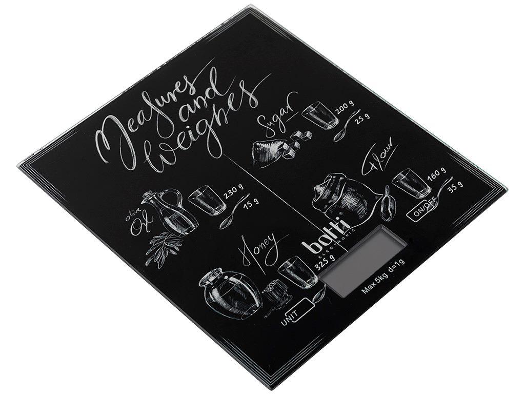 Váha kuchyňská digitální  5kg  BLACK