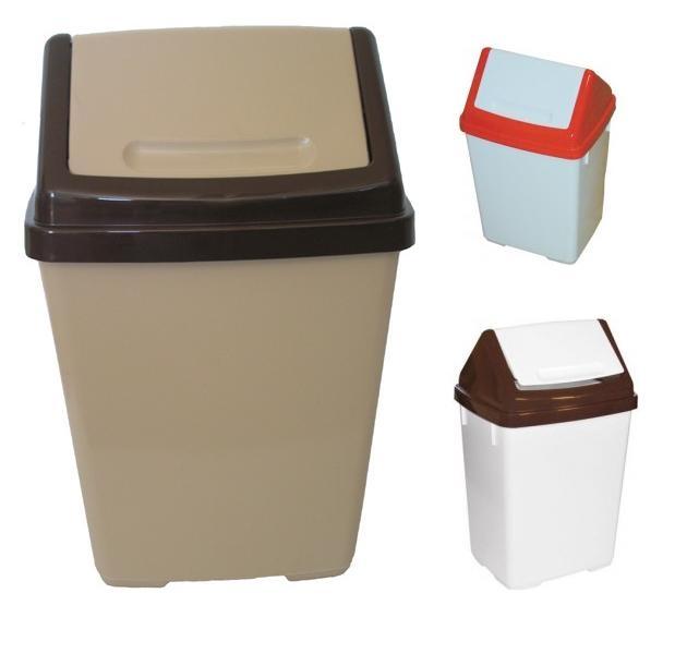 Koš odpadkový výklopný 30L  KAJETÁN, mix barev