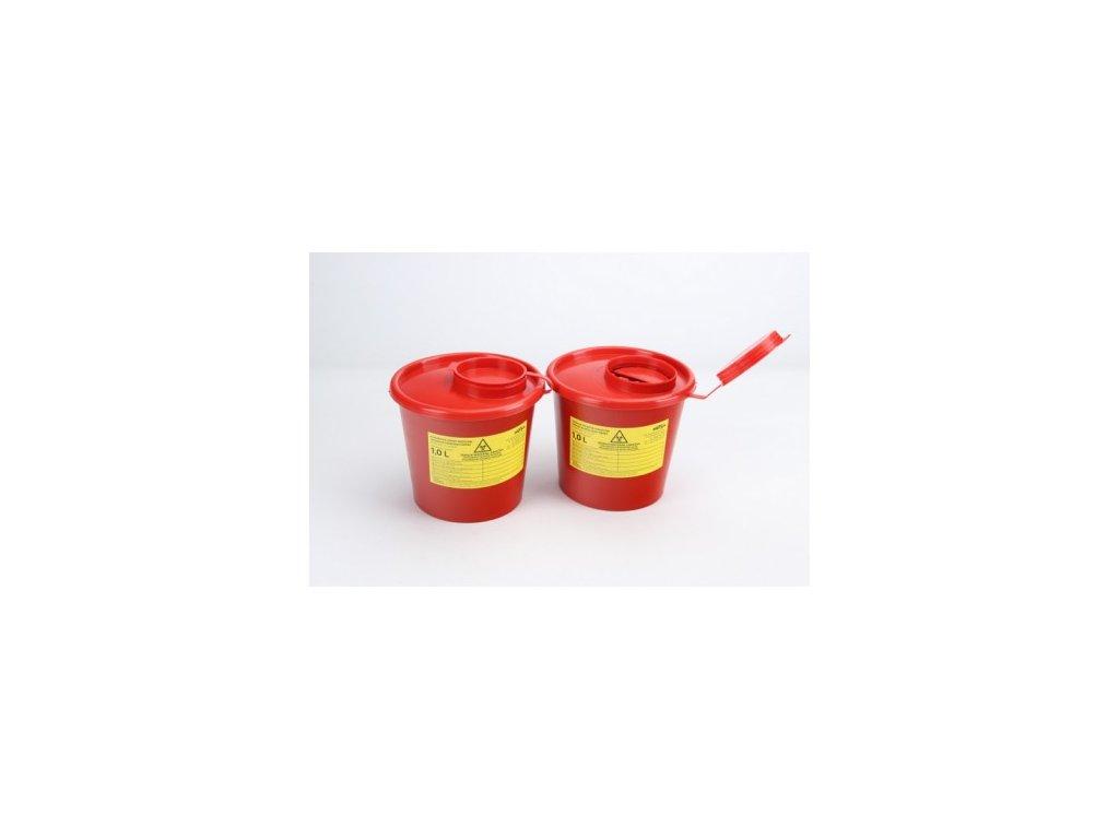 Intergos nádoba na medicínský odpad 1l - 10l