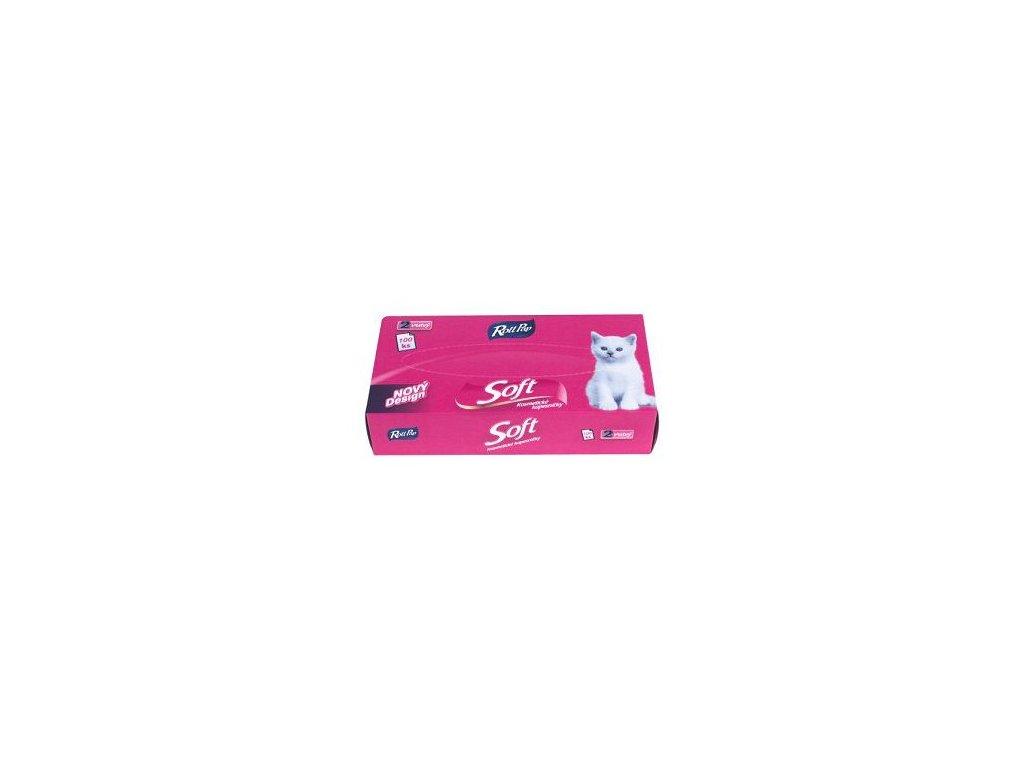 Rollpap Kosmetické kapesníčky Soft
