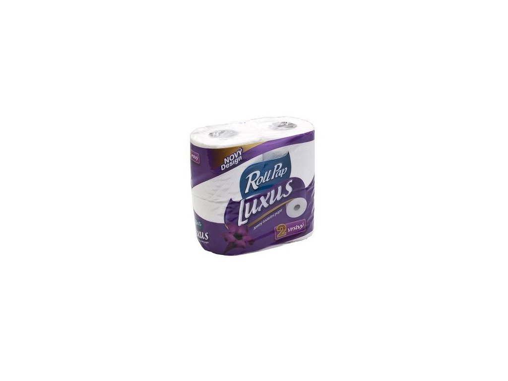 Rollpap Toaletní papír Luxus 2.vrstvý