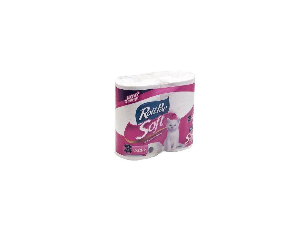 Rollpap Toaletní papír Soft 3.vrstvý