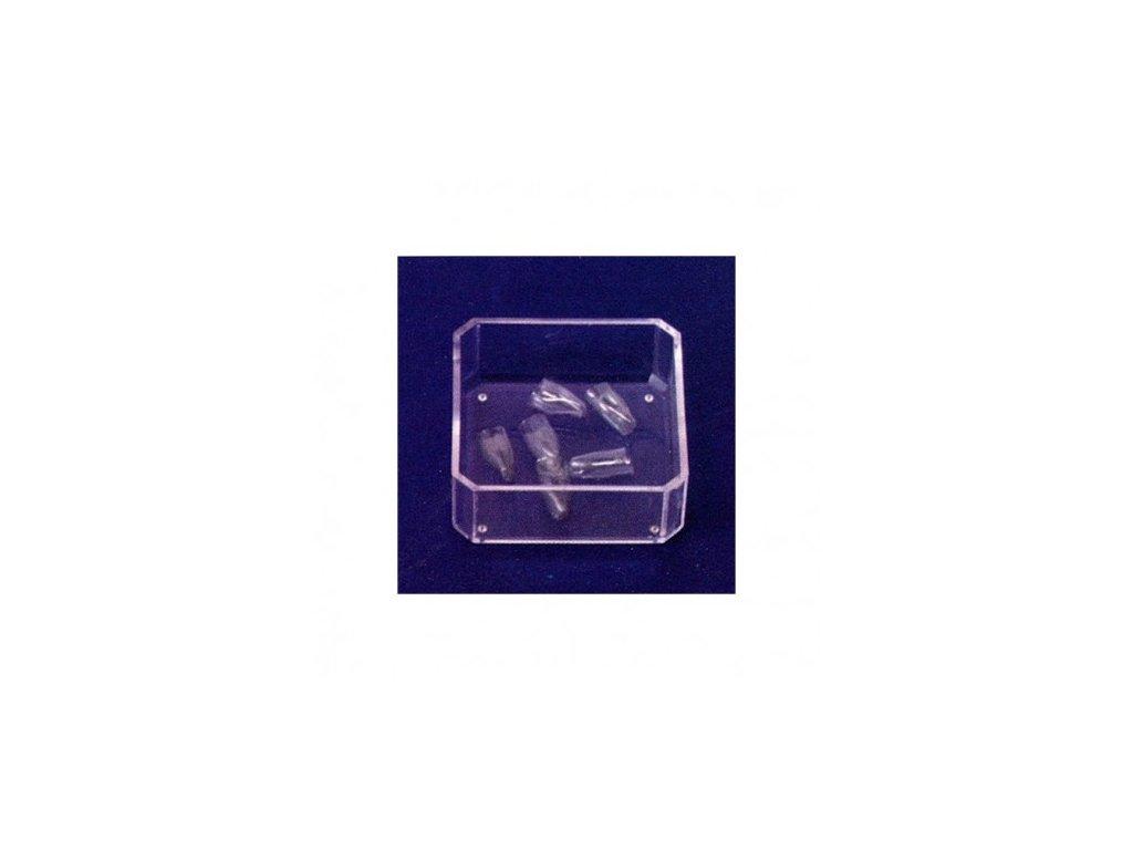 AnGer Polyesterové korunky, dolní řezáky - Lower Incisors 5 ks