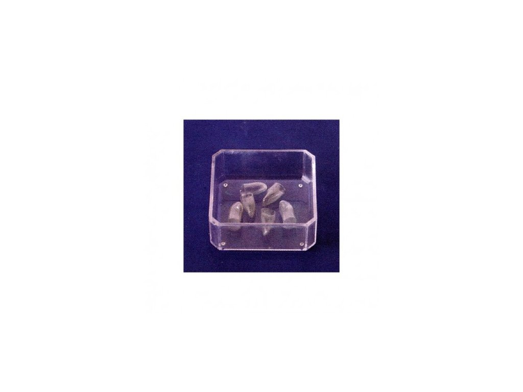 AnGer Polyesterové korunky, horní postranní řezáky - Laterals 5 ks