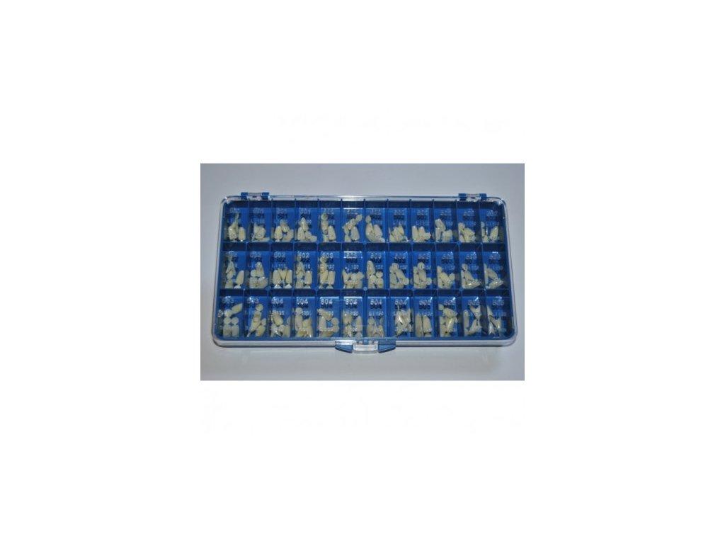 AnGer Provizorní korunky, dolní řezáky - Lower incisors 108 ks
