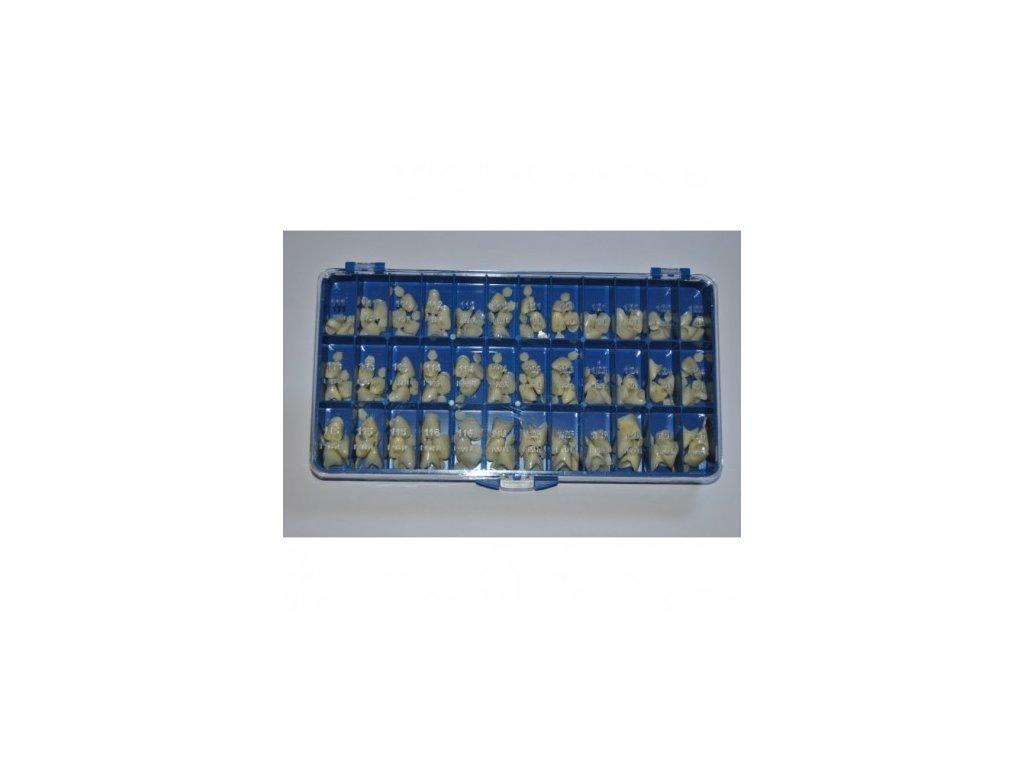 AnGer Provizorní korunky, horní střední řezáky - Upper Incisors 108 ks