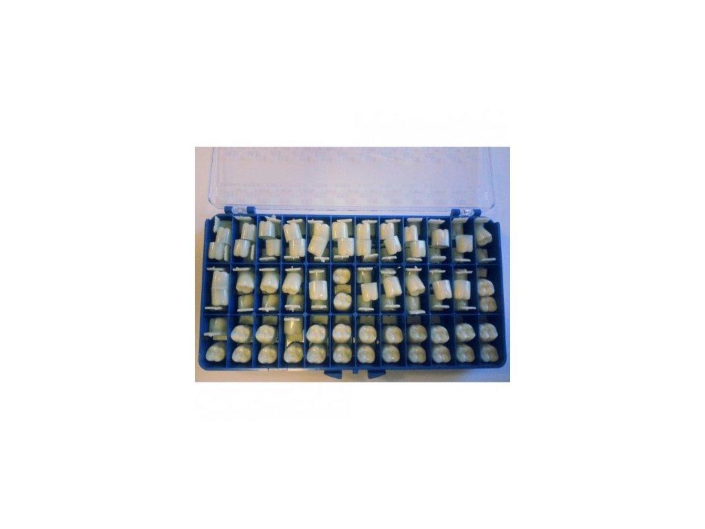 AnGer Provizorní korunky, stoličky - Molars 108 ks