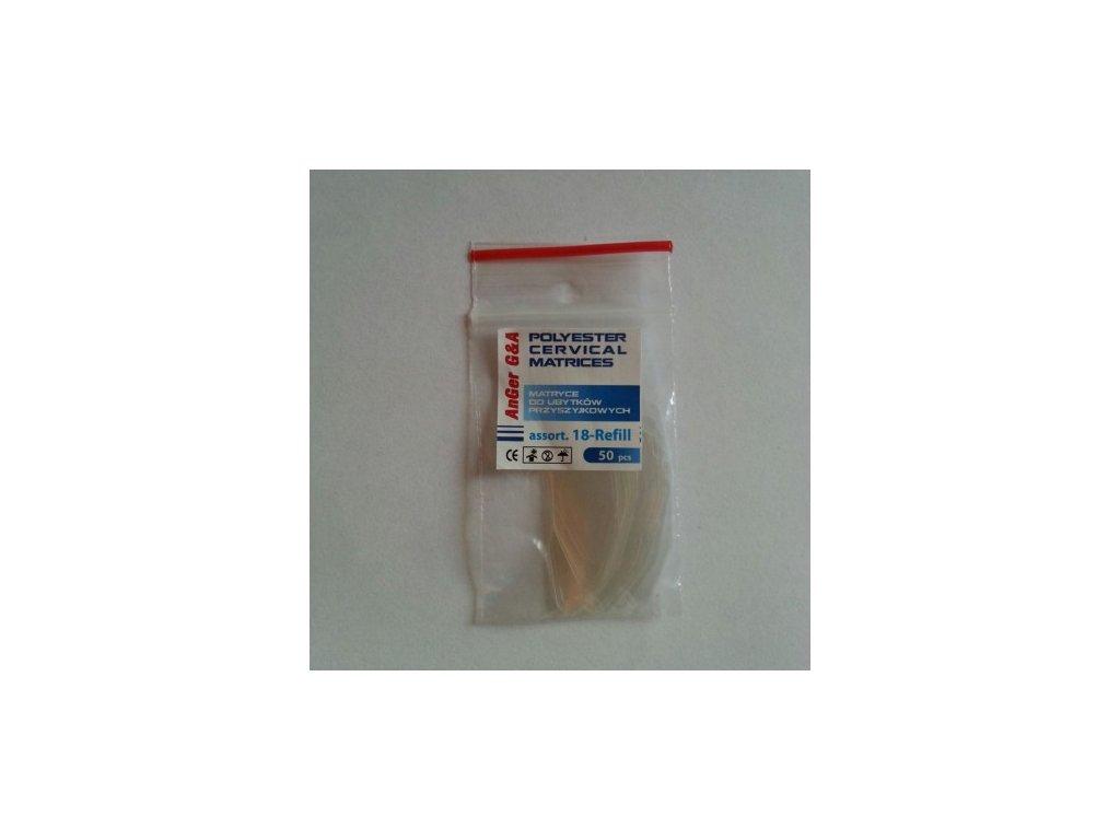 AnGer Cervikální polyesterové matrice - Refill