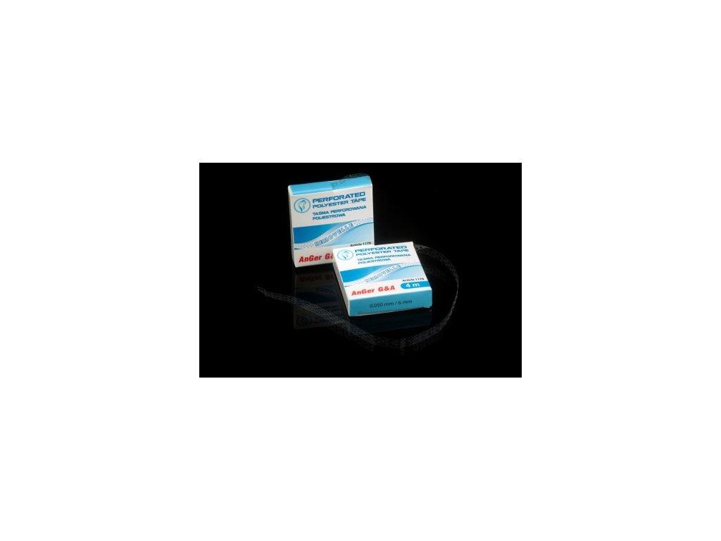 AnGer Perforovaná polyesterová páska (Polyester scaler)