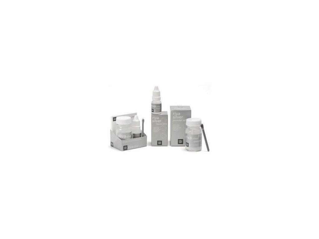 SDI Riva Silver prášek+tekutina
