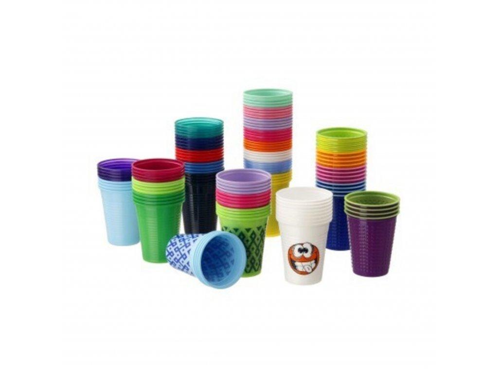 Akzenta Kelímek barevný (180 ml)
